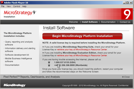 microstrategy evaluation edition license key